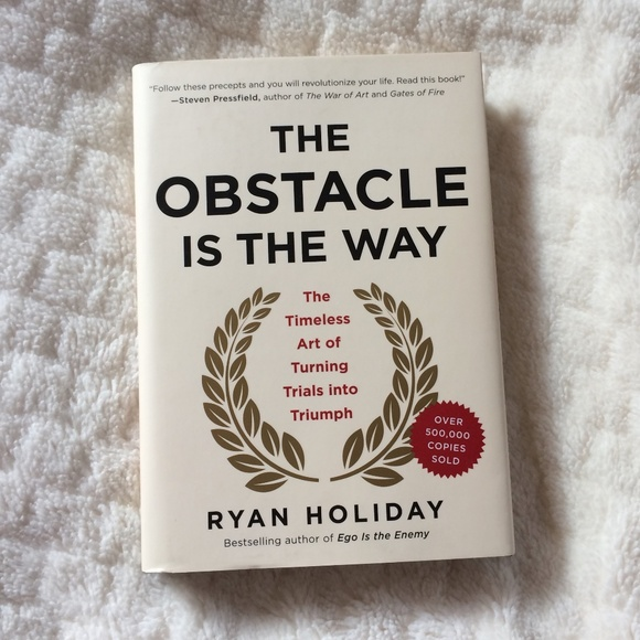 Other - The Obstacle Is The Way Book